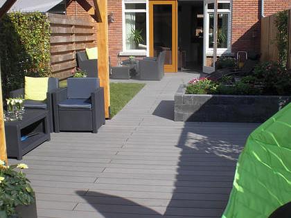 U wilt een composiet terras aanleggen goedkoopste in composiet terras bij eurocomposiet - Bedek een goedkoop terras ...
